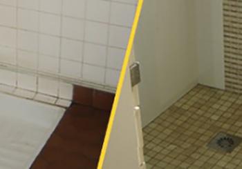 Douches (avant-après)